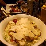 Magret de canard et salade césar