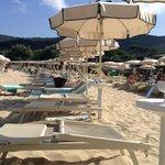 Spiaggia privata Hermitage