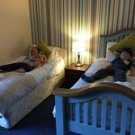 Kids loved their beds!