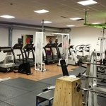 Part of the gym