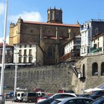 Iglesia desde puerto