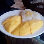 Mango steaky rice