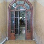 Inside the main door