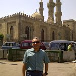 In front of Masjid