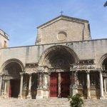 Abbatiale Saint-Gilles (Gard), France.