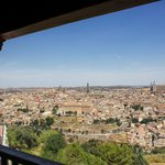 View of Toledo from the Parador