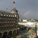 Störtebeckerhaus mit  Regenbogen