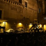 The courtyard of Castel Sant'Angelo were classic concerts take place