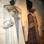 Costume exhibition at Loches Chateau