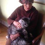 Eileen and Sergei - After Breakfast Chatting