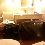packing our luggage > room #607