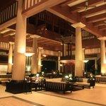 Hall d'entrée de l'hôtel
