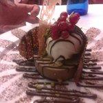 fantasia di sapori,cioccolato,vaniglia lime