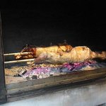 Lamb on the spit