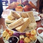 high tea at cape lavender