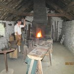 Irish forge