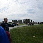 Approaching Stonehenge