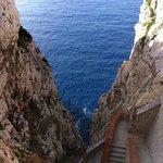 652 Stufen zur Grotte Nettuno