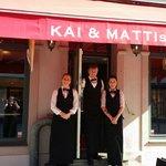 Velkommen til Kai&mattis cafe Tirsdag - lørdag 1100-1800