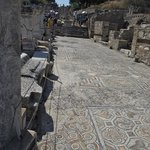 Mosiac floors in Ephesus.