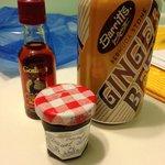 Omaggio dei proprietari con annessa squisita marmellata preparata da Jean-Marie