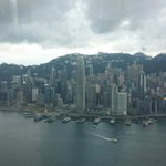 View towards Central, Wan Chai and the 2nd highest building in Hong Kong, the IFC.