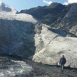Exit Glacier op 7 miles