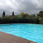 Piscine très agréable ou l on peut vraiment nager !!!!