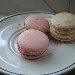Macarones from the next door bakery