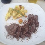 Chateaubriand with Rosemary roast potatoes
