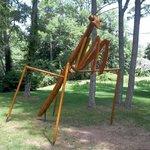 giant bug art scuptures