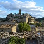 View of the village from the Parador