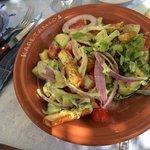 insalata avocado e formaggio