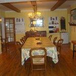 Geln Arbor B & B dining room