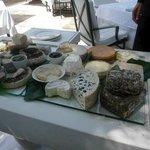 Le plateau de fromages affinés des Bories