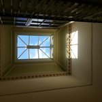 One of the skylights