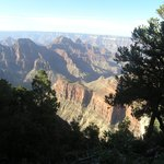 Canyon view in morning light