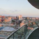 Amazing penthouse view