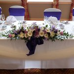 Lovely Top Table done by Dawn - Decor Events