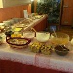 buffet sala colazioni