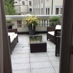 terrace off pres suite