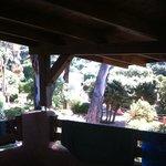 Vista terrazza piscina