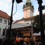 open air concert has a great atmosphere