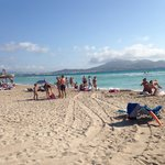 La plage à 500m