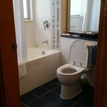 At the end of a busy day, you will appreciate a good-sized bathroom