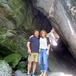 Vermontology customers at Smugglers' Notch- Vermont Tours