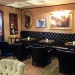 Lounge area of restaurant