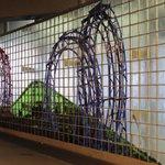 Coney Island Subway Station art
