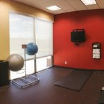 Great gym space for aerobics and yoga