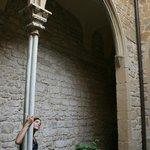 Gothic courtyard